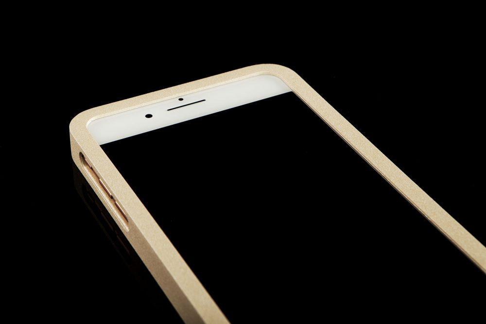 Strålningsskyddande mobilskal i nude aluminium till iPhone 6s, 7 och 8 plus från RP of Sweden