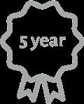 5 års garanti på mobilskal