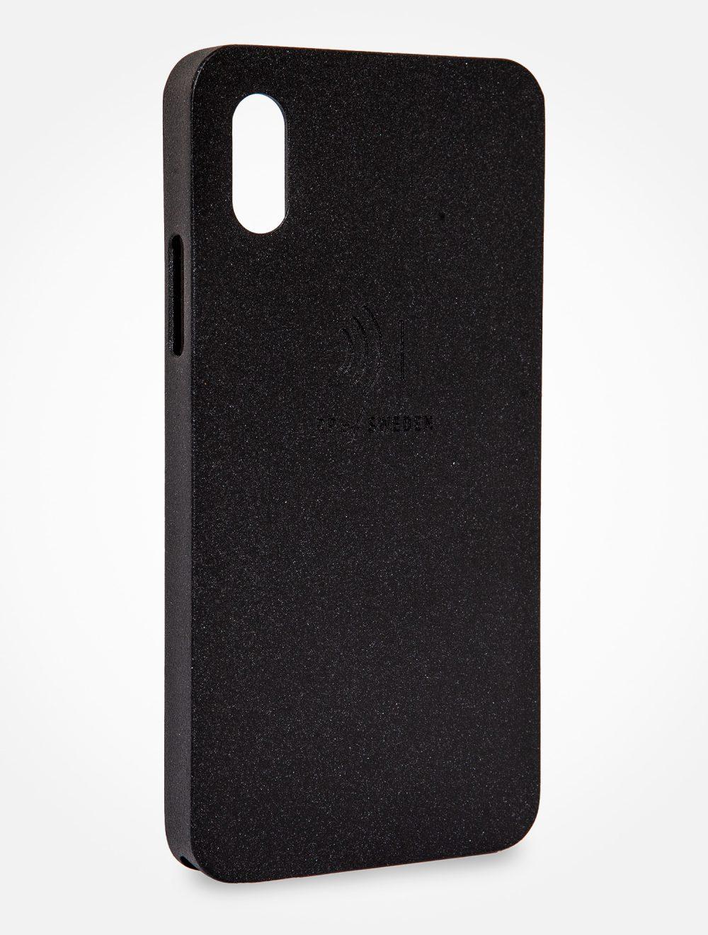 Strålningsskyddande mobilskal, night black aluminium, från RP of Sweden
