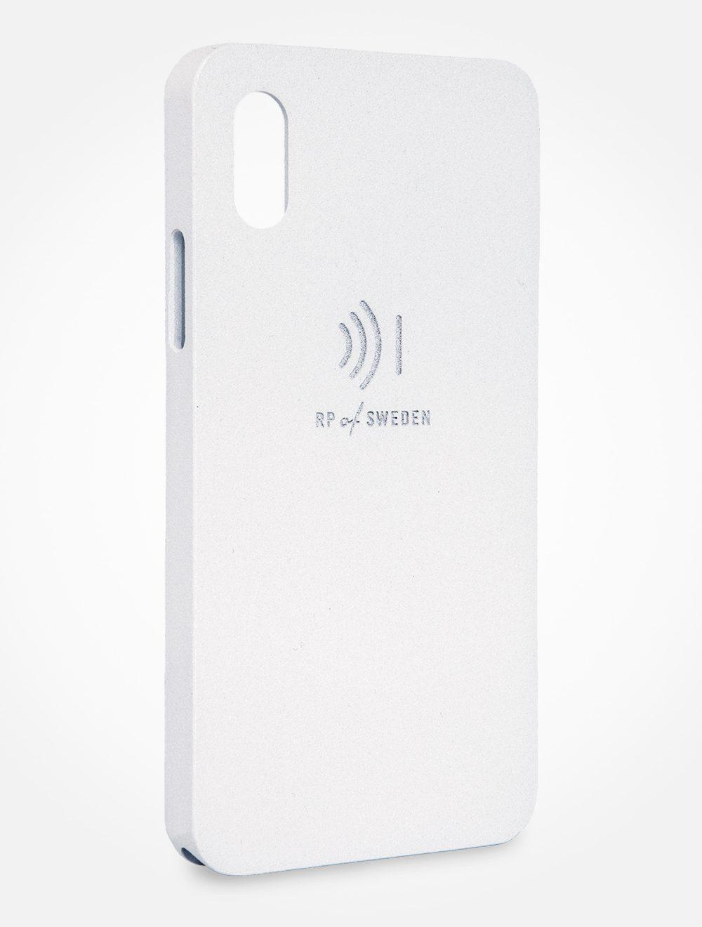 Strålningsskyddande mobilskal, ice aluminium, från RP of Sweden